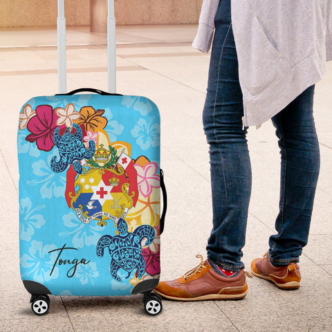 Tonga Luggage Covers - Tropical Style - BN01