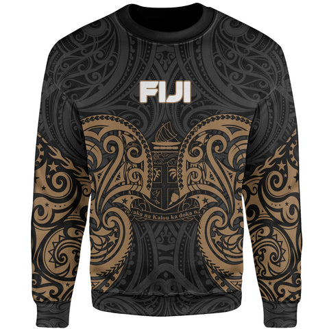 Image of Fiji Polynesian Sweater - Spirit Style Gold