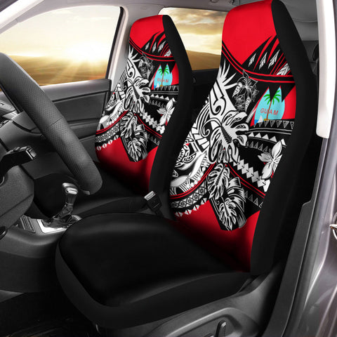 Guam Car Seat Cover - Tribal Jungle Pattern - BN20