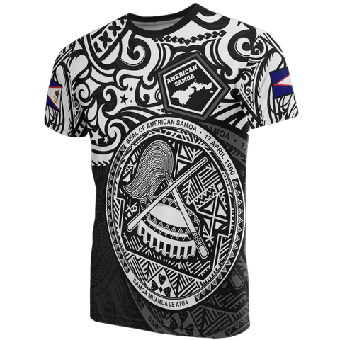 Image of American Samoa T-shirt - National Pride (White