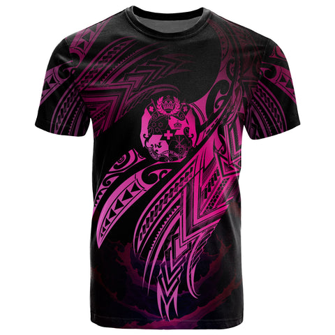 Image of Tonga Polynesian T-Shirt - Tonga Legend Pink Version