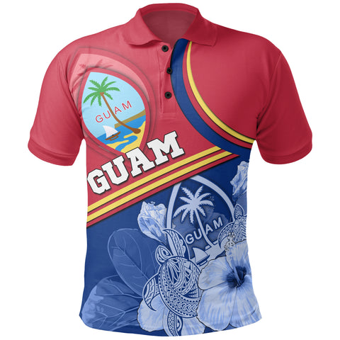 Guam Polynesian Polo Shirt - Land of the Chamorros