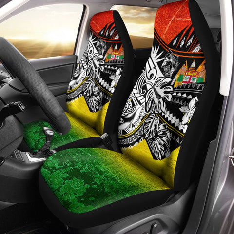 Image of Fiji Car Seat Cover - The Flow OF Ocean Reggae Color - BN20