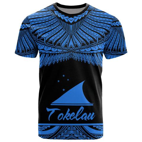 Tokelau Polynesian T-Shirt - Tokelau Pride Blue Version
