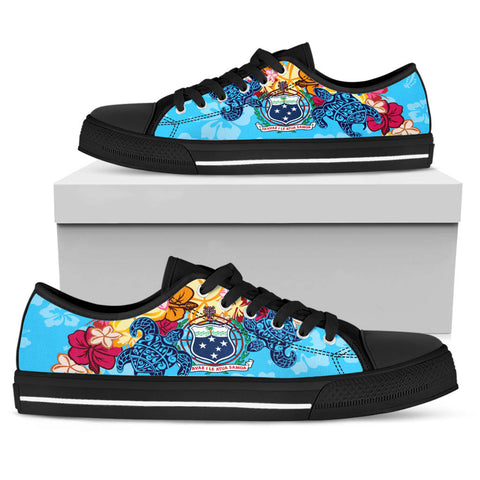 Samoa Low Top Shoes - Tropical Style