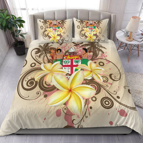 Image of Fiji Polynesian Bedding Set - Summer Tropical