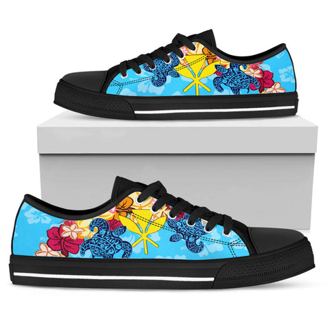 Hawaii Kanaka Maoli Low Top Shoes - Tropical Style