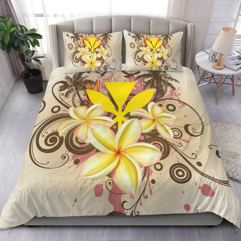 Hawaii Polynesian Bedding Set - Summer Tropical
