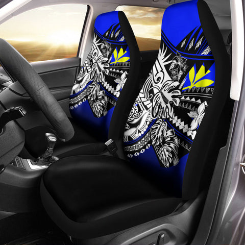 Hawaii Car Seat Cover - The Flow OF Ocean Blue Color - BN20