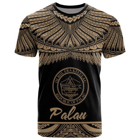 Palau Polynesian T-Shirt - Palau Pride Gold Version