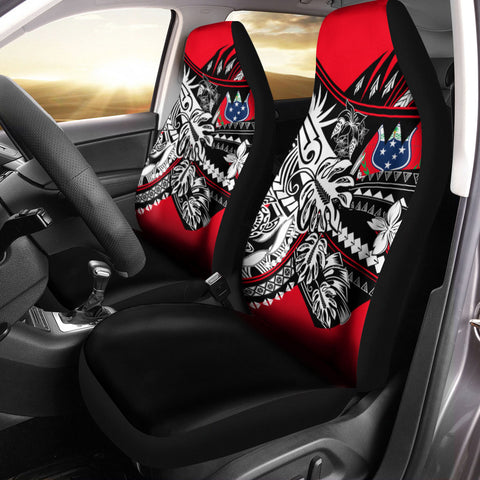 Image of Samoa Car Seat Cover - Tribal Jungle Pattern - BN20