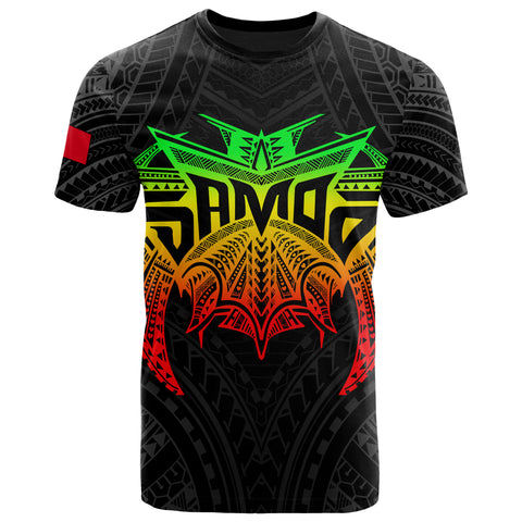 Image of Samoa Polynesian T-Shirt - Samoan Legends Reggae Version