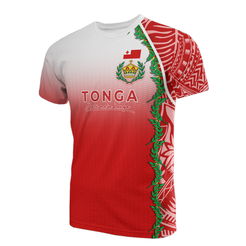 Tonga T-shirt - Ocean Waves - BN11