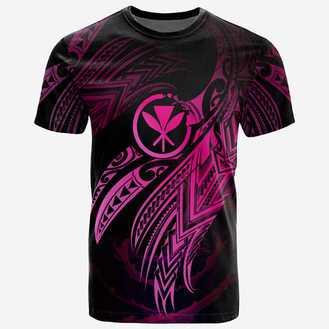 Hawaii Polynesian T-Shirt - Hawaii Legend Pink Version