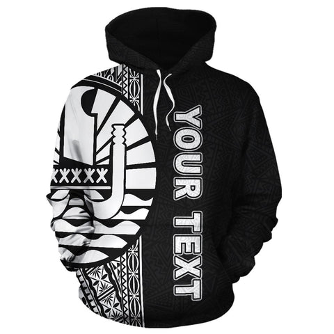Image of Tahiti Personalised Custom Hoodie, French Polynesia Personalised Custom Hoodie, Polynesian, Tahiti clothing, Polynesian clothing,  French Polynesia clothing, Polynesian Personalised Custom Hoodie