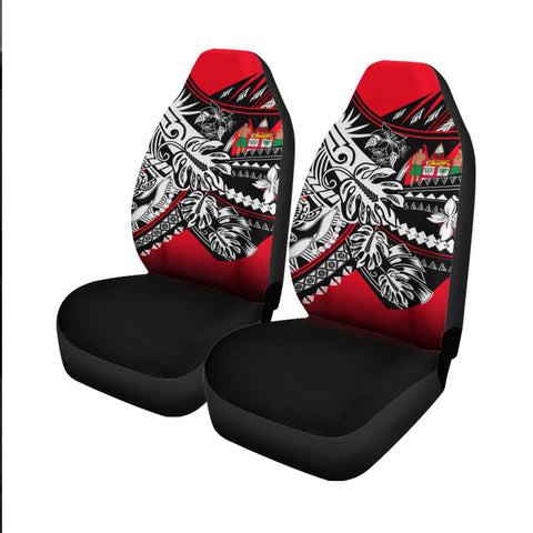 Image of Fiji Car Seat Cover - Tribal Jungle Pattern - BN20