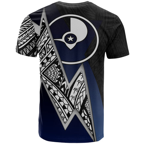 Image of Yap Micronesian Custom Personalised T-Shirt - Blue Lighting Piece