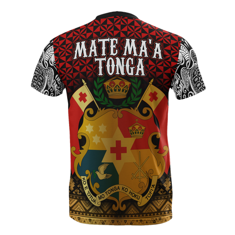Image of Mate Ma'a Tonga T-Shirt - BN12