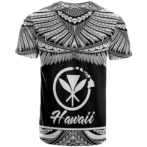 Hawaii Polynesian Custom Personalised T-Shirt - Hawaii Pride White Version - BN12