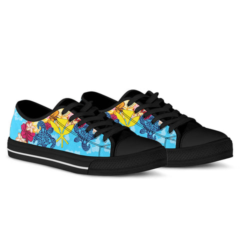 Hawaii Kanaka Maoli Low Top Shoes - Tropical Style - BN01