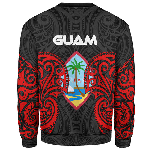 Guam Polynesian Custom Personalised Sweater - Spirit Style - BN12