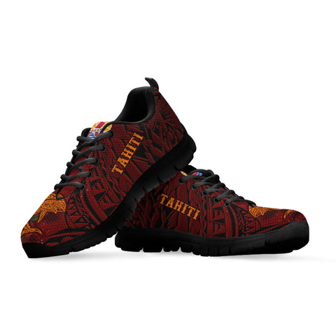 Tahiti Sneakers - Tribal Tuna Fish - BN39