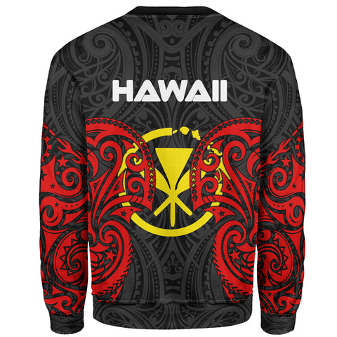 Hawaii Polynesian Custom Personalised Sweater - Spirit Style - BN12