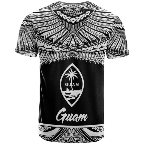 Guam Polynesian Custom Personalised T-Shirt -Guam Pride White Version - BN12