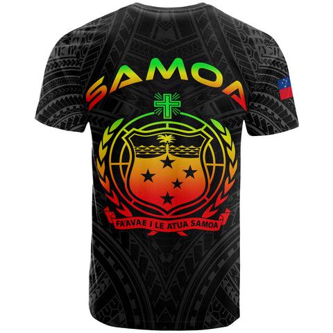 Samoa Polynesian T-Shirt - Samoan Legends Reggae Version - BN12