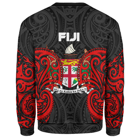 Image of Fiji Polynesian Custom Personalised Sweater - Spirit Style - BN12