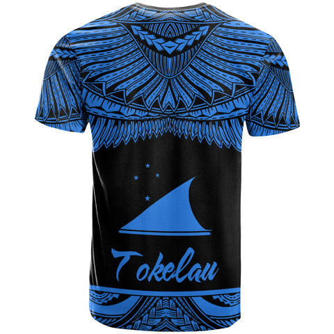 Tokelau Polynesian Custom Personalised T-Shirt - Tokelau Pride Blue Version - BN12