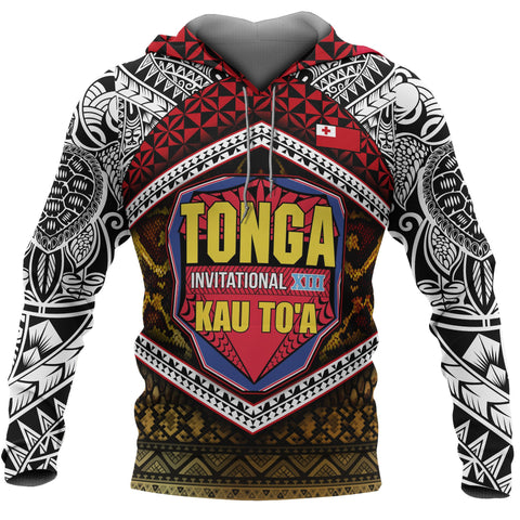 Tonga Kau To'a All Over Hoodie
