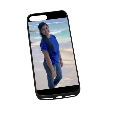 "Custom Image 2 Phone Case iPhone 8 plus (5.5"") Case - BN39"