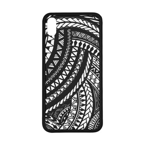 Image of Polynesian 15 Rubber Phone Case Bn10