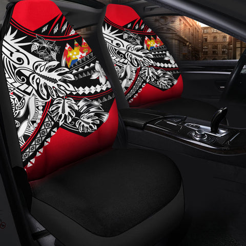 Image of Tonga Car Seat Cover - Tribal Jungle Pattern - BN20