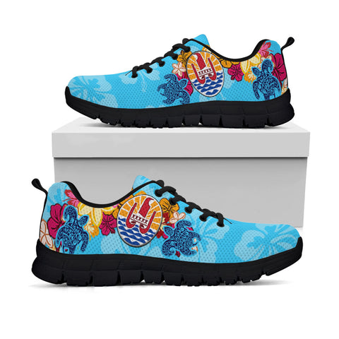 Image of French Polynesia Sneakers - Tropical Style