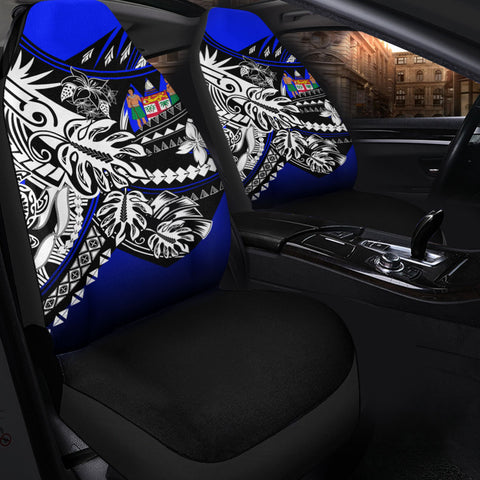 Fiji Car Seat Cover - The Flow OF Ocean Blue Color - BN20