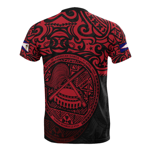 American Samoa T-shirt - National Pride (Red)