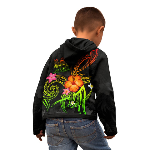 Image of Fiji Polynesian Hoodie - Legend of Fiji (Reggae)
