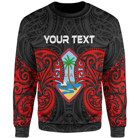 Guam Polynesian Custom Personalised Sweater - Spirit Style