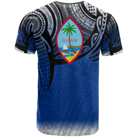 Image of Guam Polynesian T-Shirt - Tattoo Pattern - BN12