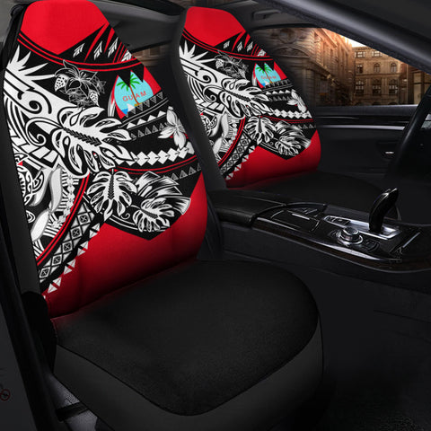 Image of Guam Car Seat Cover - Tribal Jungle Pattern - BN20