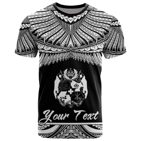 Image of Tonga Polynesian Custom Personalised T-Shirt - Tonga Pride White Version