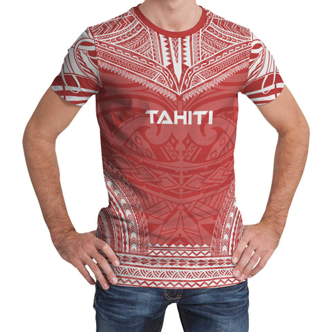 Image of Tahiti Polynesian Chief T-Shirt Dress
