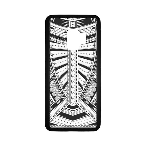 Polynesian 22 Rubber Phone Case Bn10