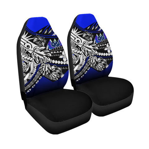Samoa Car Seat Cover - The Flow OF Ocean Blue Color - BN20