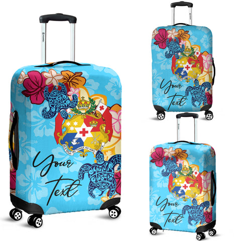Image of Tonga Custom Luggage Covers -Tropical Style