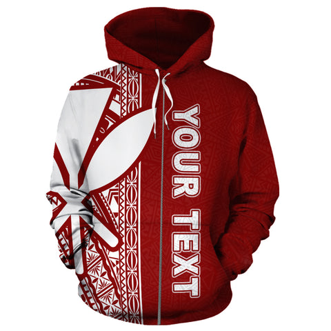 Hawaii Personalised Custom Zip-Up Hoodie, Polynesian Zip-Up Hoodie, Personalised Custom Zip-Up Hoodie, Polynesian Personalised Custom Zip-Up Hoodie