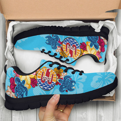 Image of French Polynesia Sneakers - Tropical Style - BN01