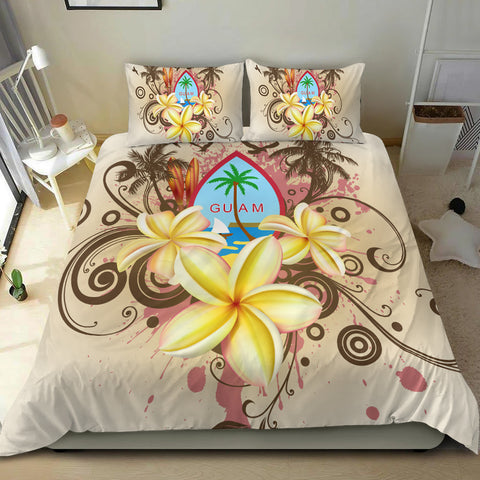 Image of Guam Polynesian Bedding Set - Summer Tropical - BN12